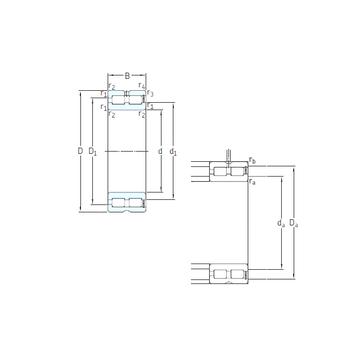 NNCF5080CV SKF Cylindrical Roller Bearings #1 image